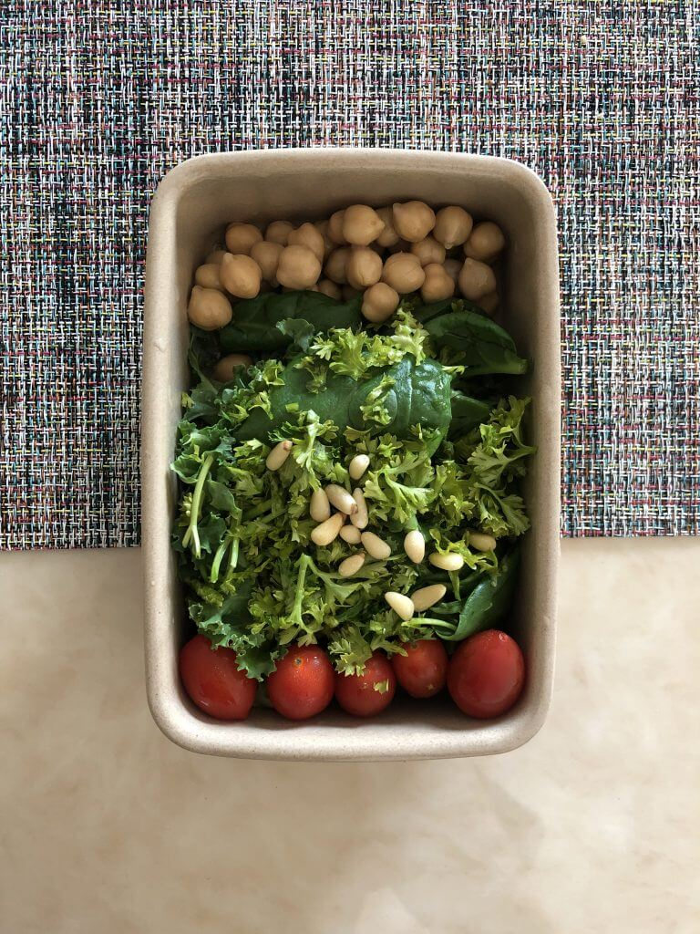 Spinach-Chickpeas-Cherry-Tomato